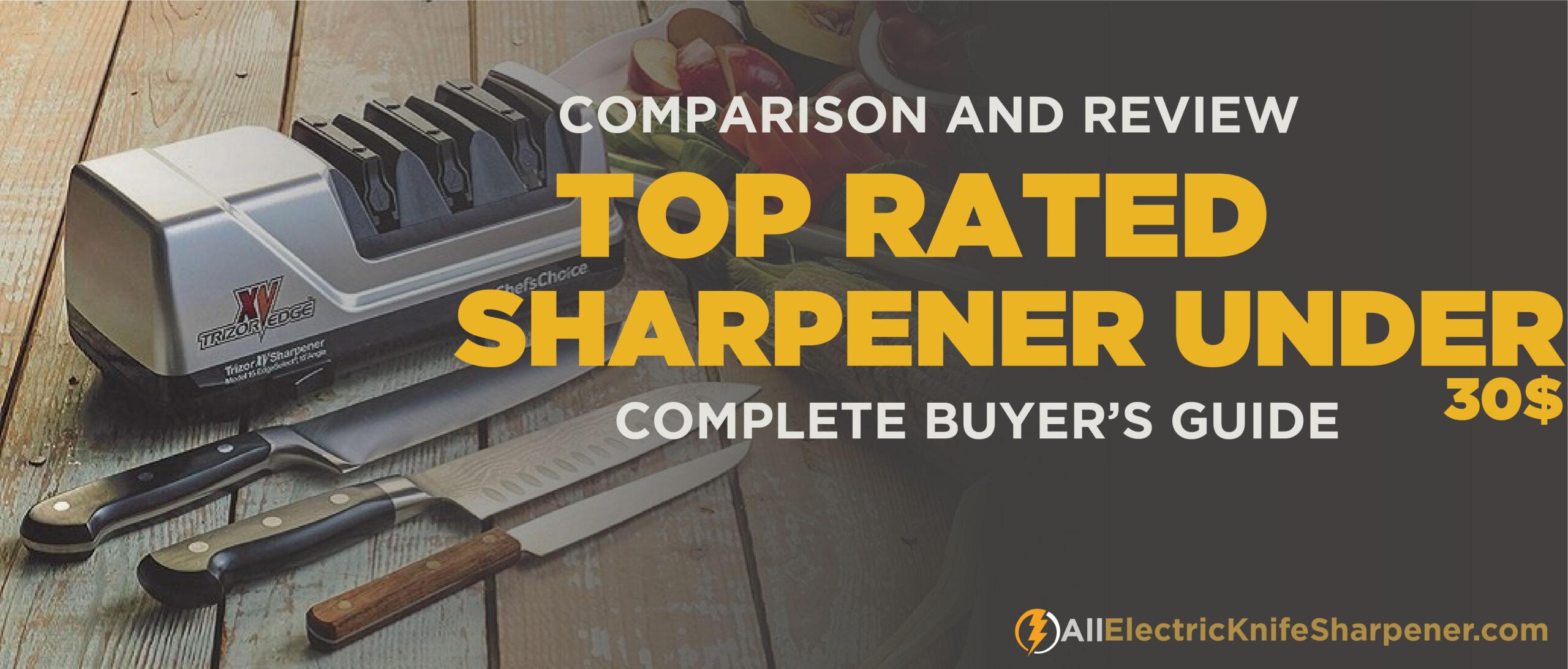 Best Electric Knife Sharpener Under $30 in 2020