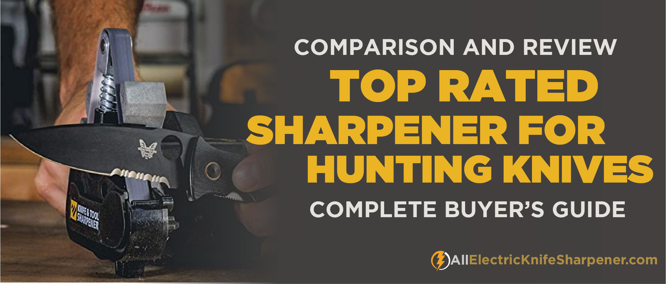 Best Electric Knife Sharpener for Hunting Knives