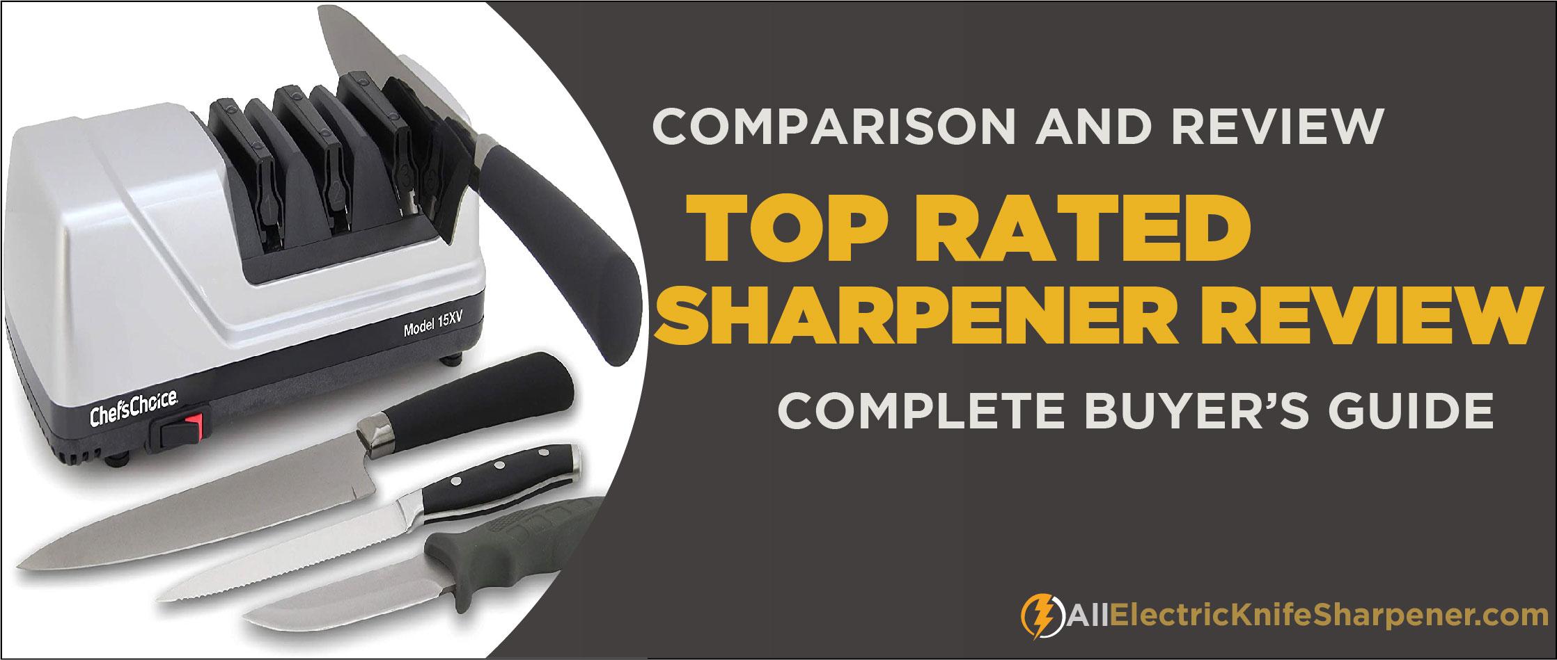 Best electric knife sharpener for global knives
