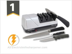 Chef'sChoice 15 Trizor XV EdgeSelect Professional Electric Knife Sharpener
