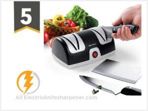 Secura Electric Knife Sharpener, 2-Stage Kitchen Knives Sharpening System