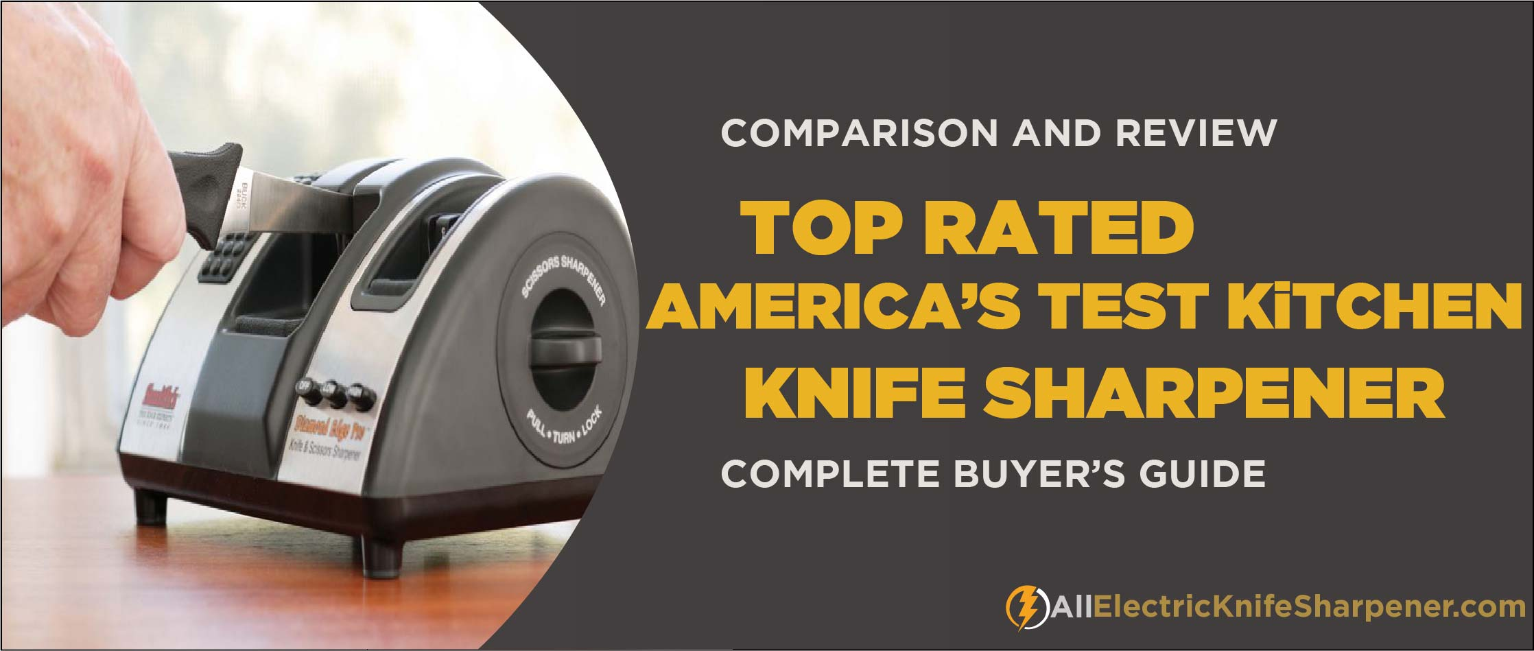 Best Electric Knife Sharpener America's Test Kitchen