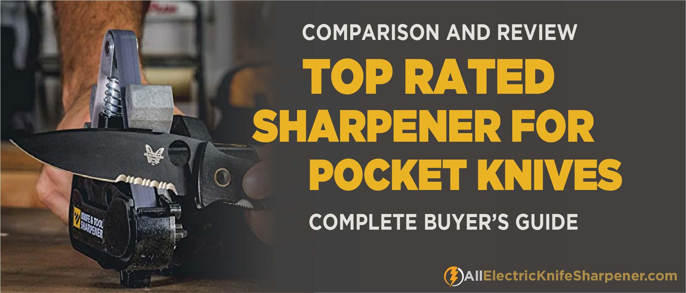 Best Electric Knife Sharpener for Pocket Knife