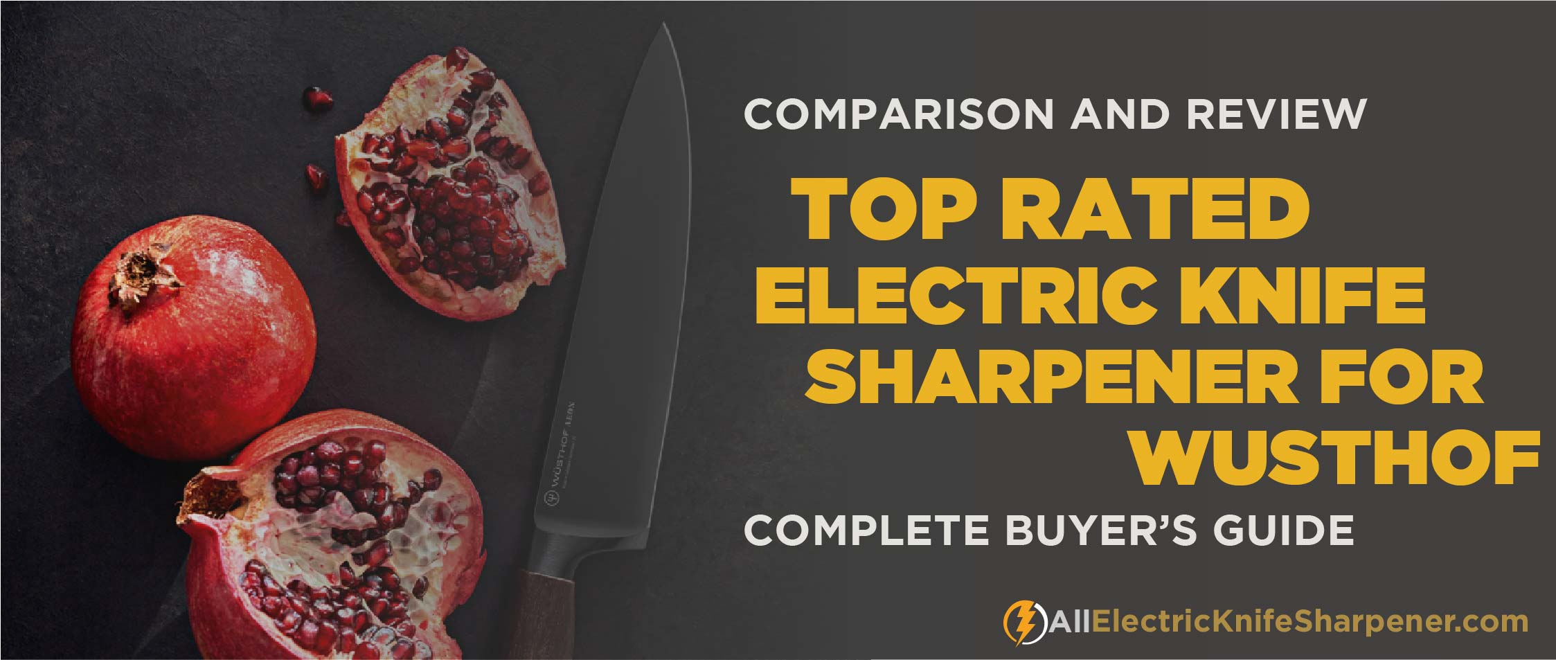 Best electric knife sharpener for wusthof