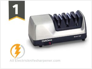 Chef'sChoice 1520 AngleSelect Diamond Hone Electric Knife Sharpener