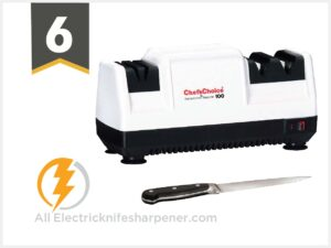 ChefsChoice Diamond Hone Electric Knife Sharpener for Stainless or Non-Serrated Knives,