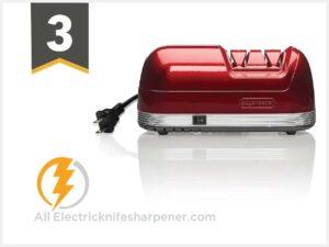 EdgeKeeper Electric Knife Sharpener, Red, 8.25-Inch