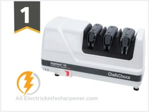 Chef'sChoice 120 Diamond Hone EdgeSelect Professional Electric Knife Sharpener