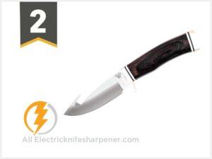 Buck Knives 191 Buck Zipper Guthook Fixed Blade Knife