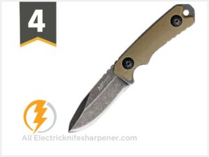 MTech USA MT-20-30 Series Fixed Blade Neck Knife, Drop Point Blade
