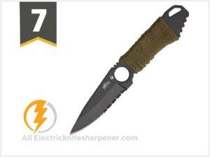 Master USA MU-1121 Series Tactical Fixed Blade Neck Knife