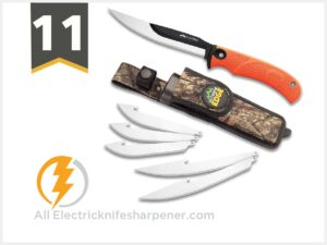Outdoor Edge RazorMax - Replaceable Fixed Blade Hunting Knife