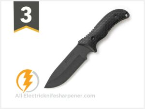 Schrade SCHF36 Frontier 10.4in Stainless Steel Full Tang Fixed Blade Knife