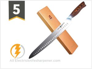 TUO Slicing Knife - Granton Carving Knife