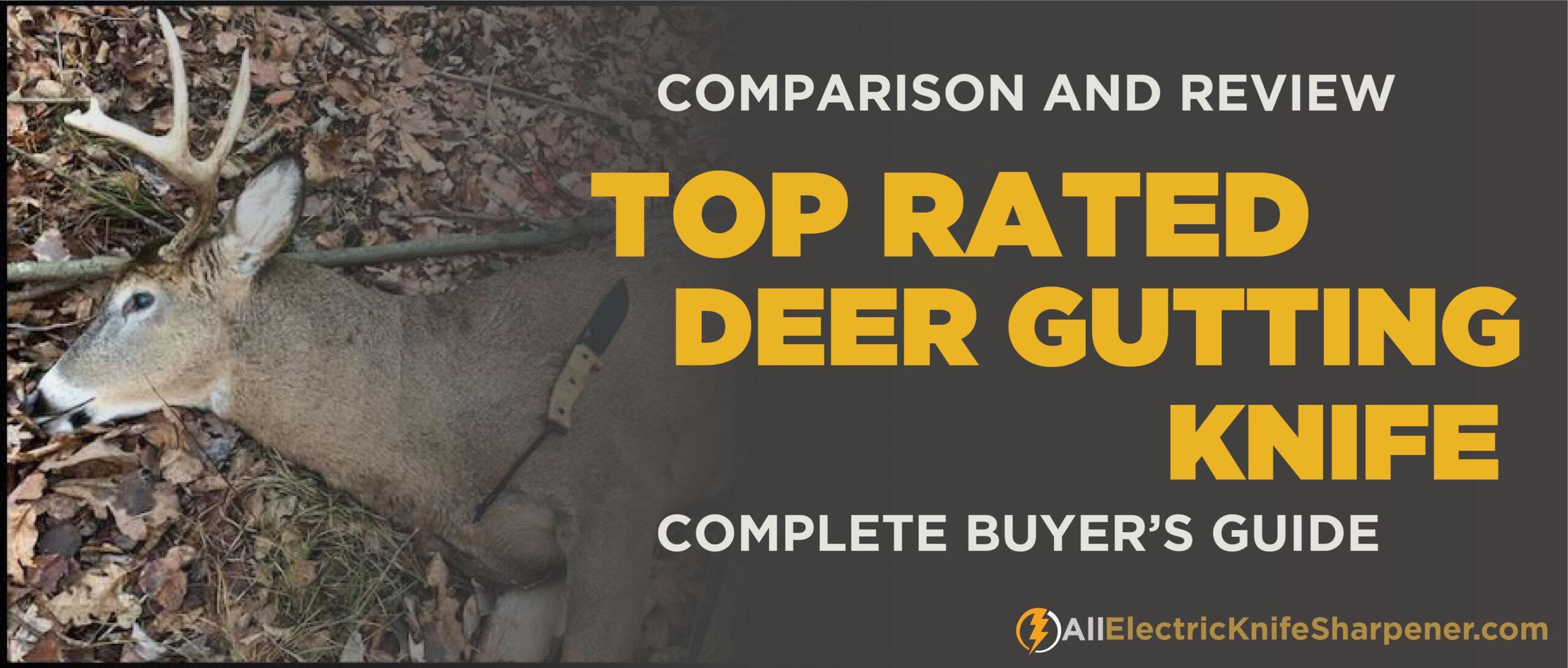 best deer gutting knife